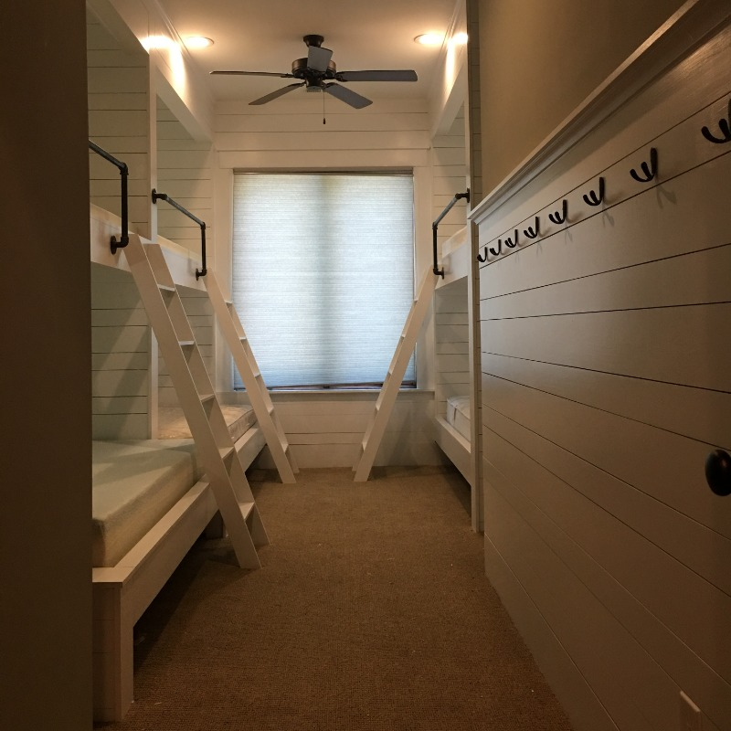 Custom Lakehouse Bunk Beds